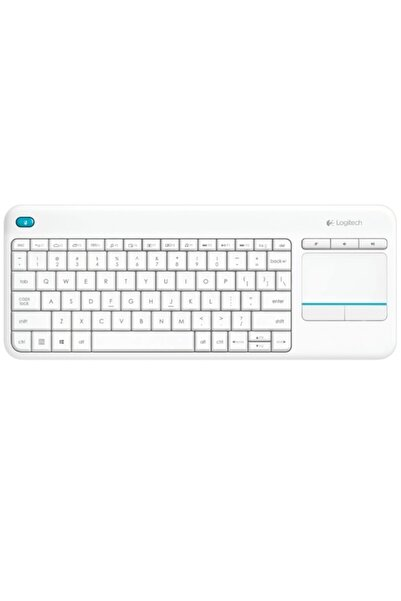 logitech 920-007150 Wireless Touch K400 Plus Beyaz Tv Kablosuz Klavye