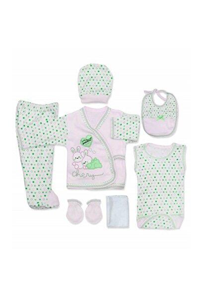 bebegen Chery Yeşil 7 Li Bebek Hastane Çıkış Seti