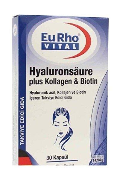 Eurho Vital Hyaluronik Asit, Kollajen Ve Biotin 30 Kapsül 02/2022