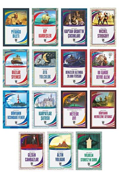 Dorlion Yayınları Dünya Çocuk Klasikleri Jules Verne (7-12 Yaş) 15´li Set