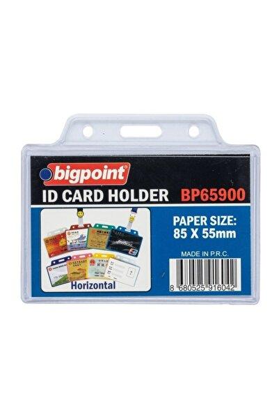 Bigpoint Kart Poşeti Yatay Şeffaf 85x55mm