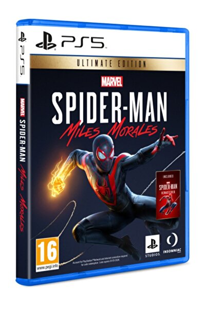 Sony Spiderman Miles Morales Ultimate Edition Ps5 Oyun
