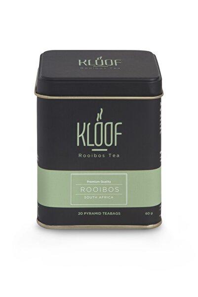 KLOOF Rooibos Tea Kafeinsiz, Bağışıklık Sistemini Güçlendiren Roybos Çayı 20'lipiramit Poşet 60gr
