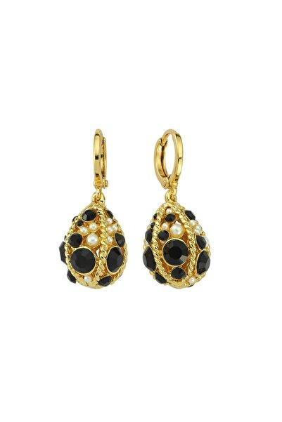 Luzdemia Pearl Petite Black Earring