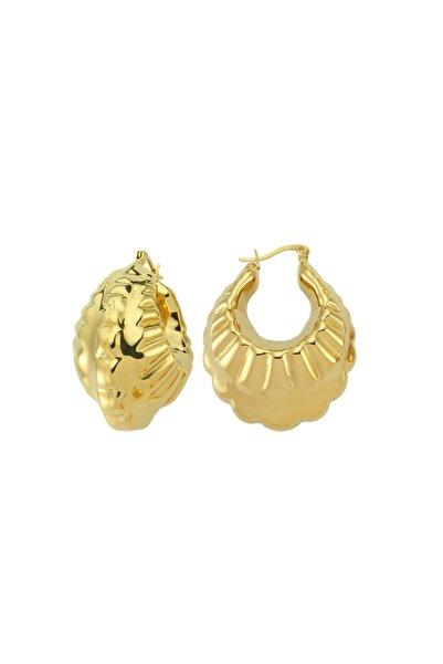 Luzdemia Bubble Hoop Earring - Gold