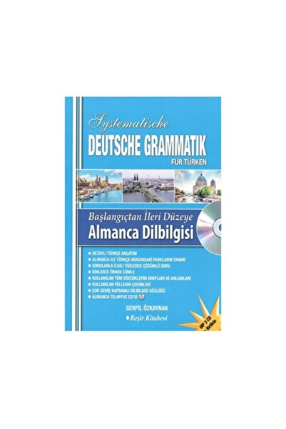 Beşir Kitabevi Başlangıçtan Ileri Düzeye Almanca Dil Bilgisi (cd)- S. Serpil Özkaynak -