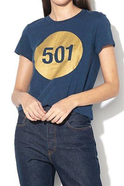 Levi's Kadın 501 Logo T Shirt