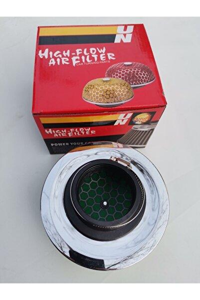 FV-TUNİNG Performans Hava Filtresi Yeşil Kromlu 60 mm