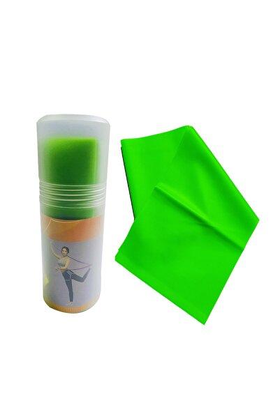 AVESSA Pilates Bandı Orta Sert 140 X 15 cm Egzersiz Direnç Lastiği