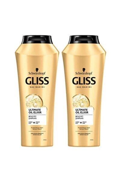 Gliss Ultimate Oil Elixir Besleyici Şampuan 500 ML 2'li