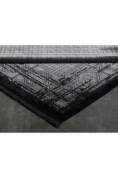 GÜMÜŞSUYU Black&brown 11322 - Siyah Halı 160x230