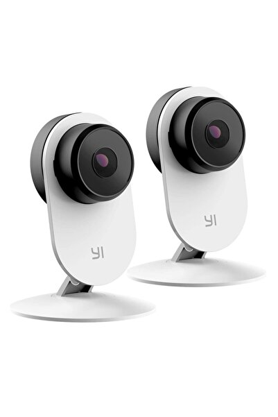YI Bebek Güvenlik Kamerası Smart Home Beyaz 1080p