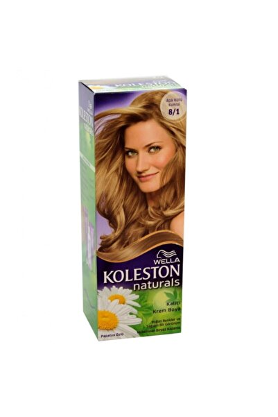Koleston Naturals Kit 8.1 Küllü Açık Kumral