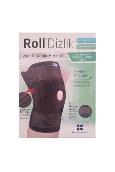 Roll Patella Ve Ligament Destekli Dizlik Ayarlanabilir Bedenli
