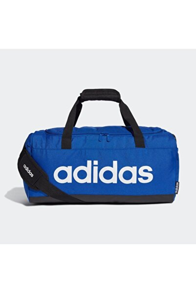 adidas Unisex Mavi Siyah Beyaz Spor Çanta 45x23x20 cm