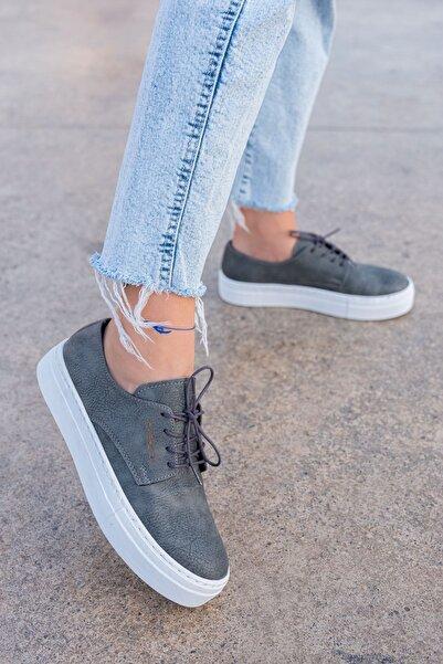 Chekich Kadın Gri  Sneaker Ayakkabı