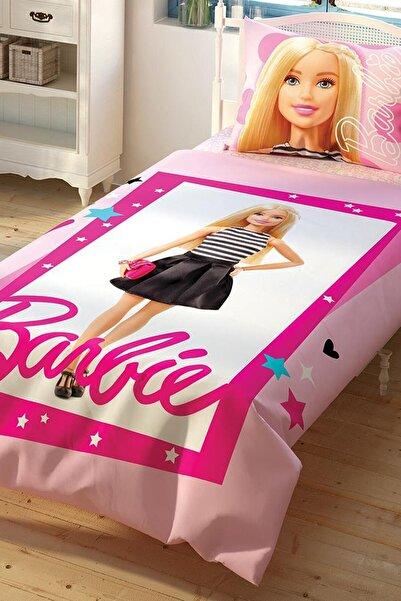 Taç Barbie Çek Canlandır Tek Kişilik Nevresim Takımı