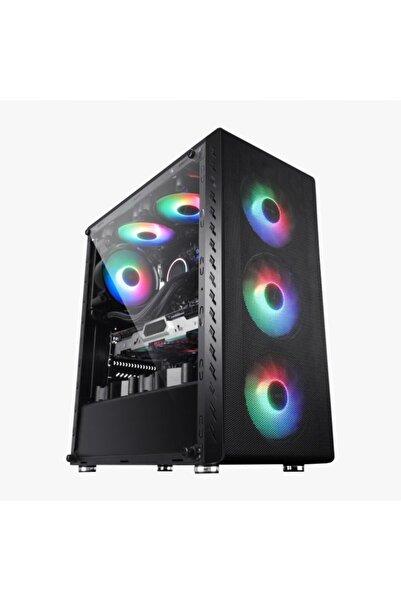 GAMER 365 Ryzen 5 2600x 16gb 1tb+240gb Ssd 4gb Gtx1050 Tı Masaüstü Pc G365043