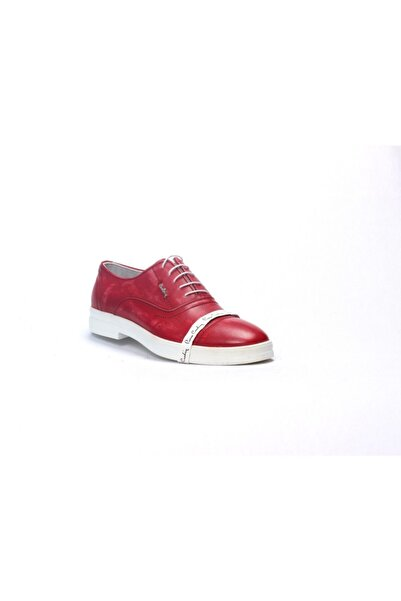 Pierre Cardin Erkek Eskitme Kırmızı Ayakkabısı 63101d