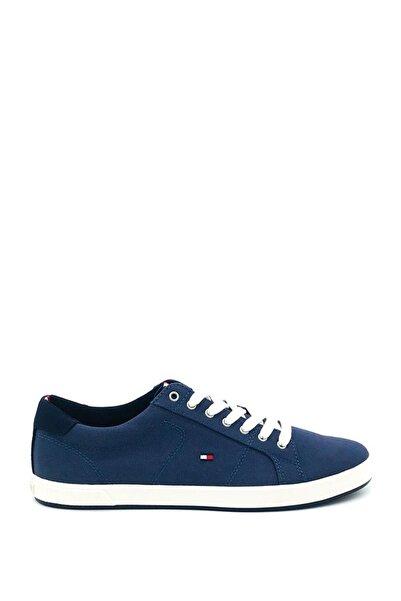Tommy Hilfiger Erkek Lacivert Sneaker Spor Ayakkabı Fm0fm01536