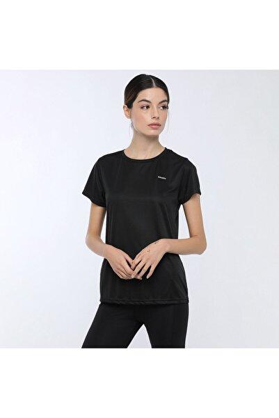 Kinetix Kadın Siyah Basic Pes C Neck T-shirt