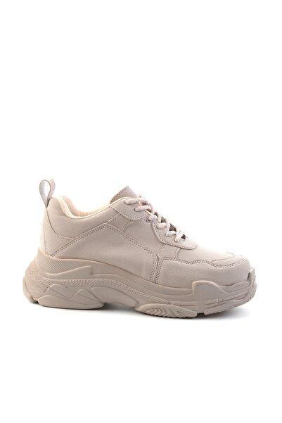Bambi Pudra Kadın Sneaker L0591007271