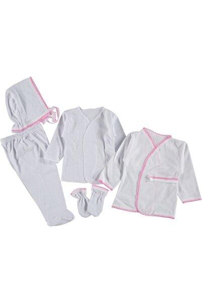 Miniworld Kız Bebek 5 Parça Hastane Çıkışı Acil Ihtiyaç Seti - 100135 Pembe