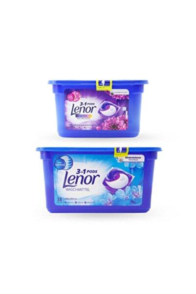 lenor Çamaşır Deterjanı Kapsülü 3' Ü 1 Arada Pods Nisan Tazeliği 38, Ametist Çiçeği 12 Yıkama