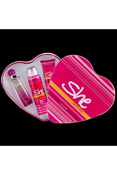 She Fun Kofre 50 Ml+150 Ml Kadın Parfüm Set