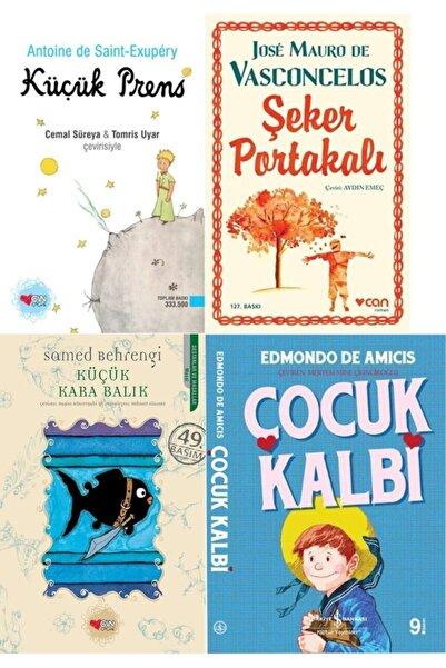 İş Bankası Kültür Yayınları En Çok Okunan Çocuk-gençlik Klasikleri 4 Kitap Set Çocuk Kalbi-şeker Portakalı-küçük Prens