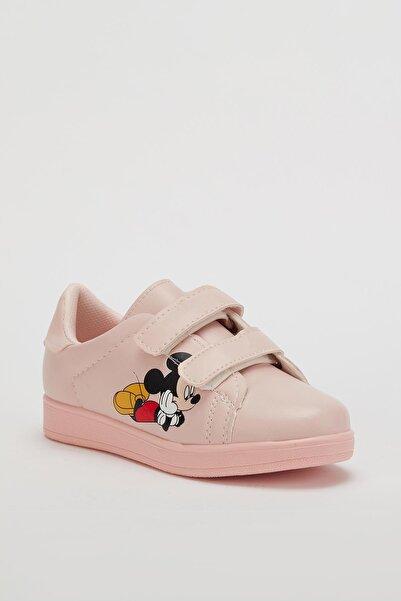 MUGGO Çocuk Pembe Cırtlı Yürüyüş Ayakkabısı Mgroly01