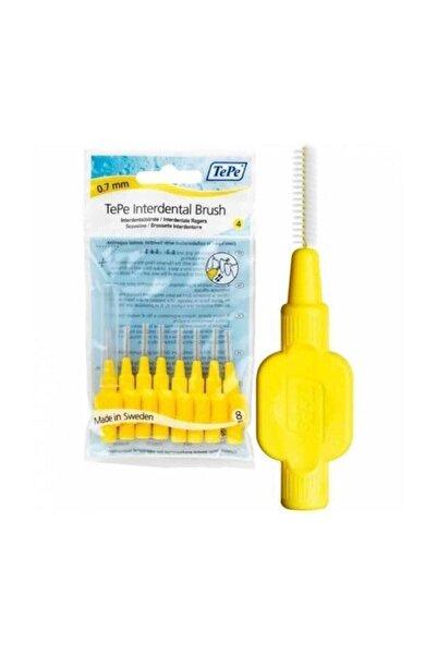 TePe 0,7 Mm Sarı Diş Arası Fırçası 8 Adet