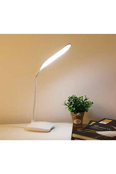 Avec 360° Dönebilen-esnek Usb Şarjlı Masa Lambası Beyaz Led Işık Gece Lambası Ev-ofis-çalışma