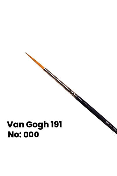 Van Gogh Sulu Boya Fırçası Yuvarlak Uçlu Seri 191 No 3/0