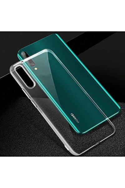 Huawei P Smart Pro 2019 Kılıf Şeffaf Tam Koruma Esnek Süper Silikon Model