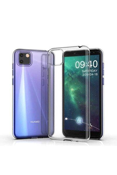 Huawei Y5p Kılıf Şeffaf Tam Koruma Esnek Süper Silikon Model