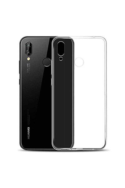 Huawei Y7 Prime 2019 Kılıf Şeffaf Tam Koruma Esnek Süper Silikon Model