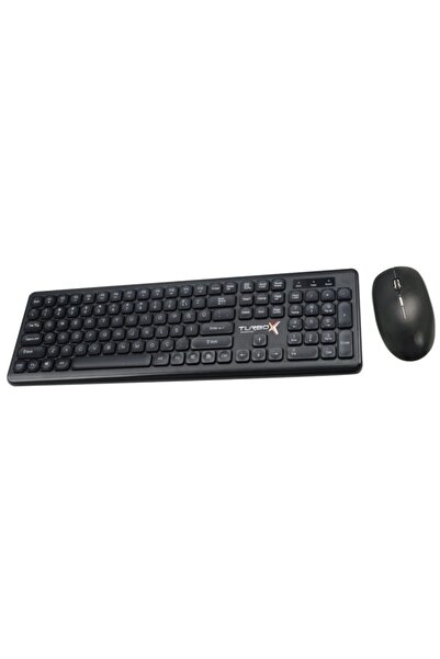TURBOX Km-20 Wireless Multimedya Q Klavye Mouse Set