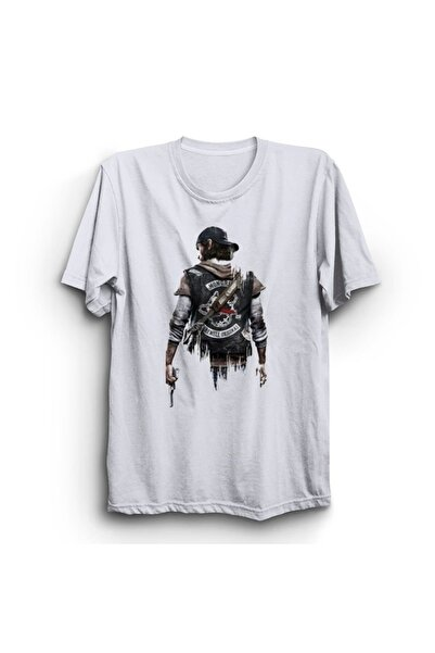 BERTHE Days Gone Baskılı Tshirt
