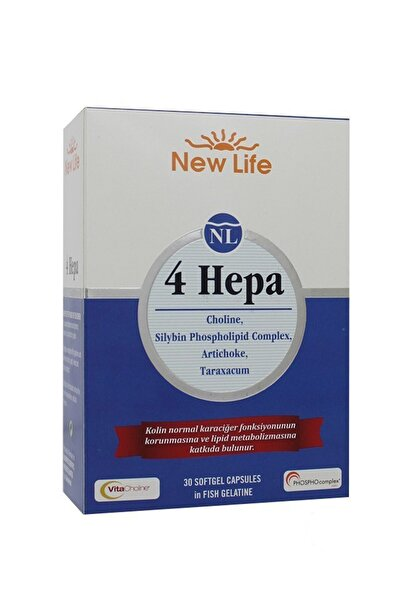 New Life 4 Hepa 30 Yumuşak Kapsül 7640128140931
