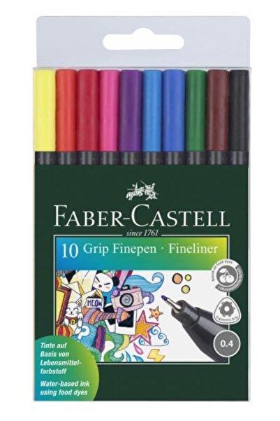 Faber Castell Grip Finepen 10 Renk