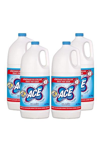 ACE Klasik Çamaşır Suyu 17,2kg (4,3 Kg X 4)