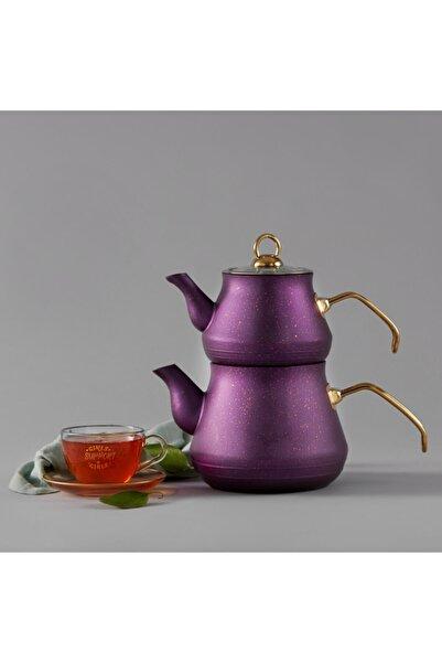 Karaca Bio Granit Çaydanlık Takımı Mor