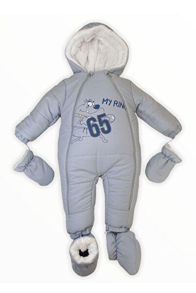 KaktüsKedi Erkek Bebek Kışlık Mont