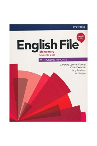 Oxford English File Elementary (4th Edition)