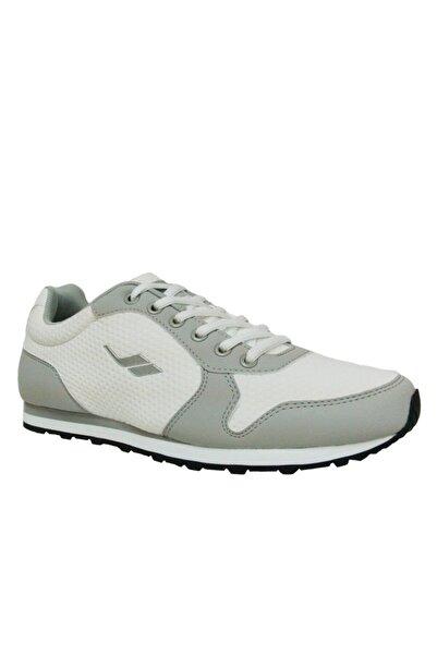Lescon Erkek Beyaz Bağcıklı Sneakers Spor Ayakkabı