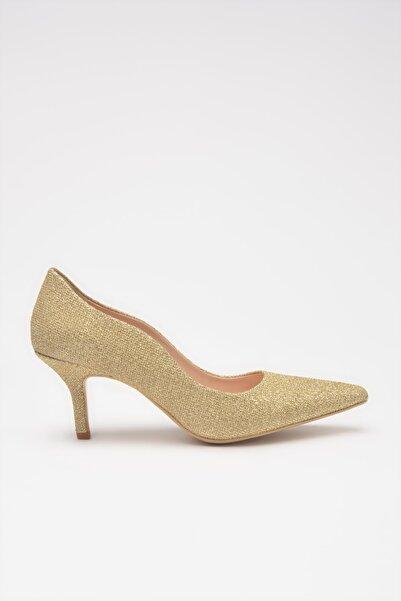 Hotiç Gold  Klasik Topuklu Ayakkabı 01AYH213710A540