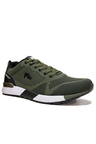 lumberjack Erkek Haki Bağcıklı Sneakers Spor Ayakkabı