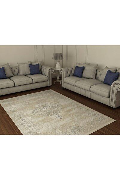 FORVET HALI Forvet Klasik Salon Halısı 26492 Bej-mavi 200x290 Cm