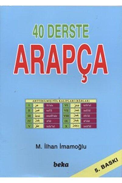 Beka Yayınları 40 Derste Arapça